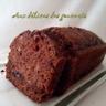 Cake moelleux chocolat pommes et courgettes