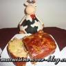 Cake raclette et asperges