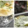 Camembert rôti au four au pesto de pousses d'épinards et noix