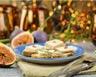 Canapés pain d'épices / foie gras / figues