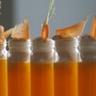 Cappuccino de carotte des sables à l'orange et au cumin