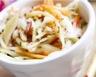 Carottes et pousses de soja en salade