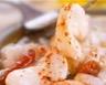 Carpaccio de lotte mariné au piment