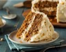 Carrot cake épicé au cream cheese