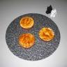 Cassolette d'escargots au champagne et thym citron cuit sous cloche feuilletée