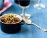 Cassolette de bœuf à la bourguignonne