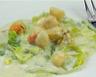 Cassolettes de Saint Jacques sur fondue de poireaux gratinée