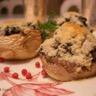 Champignons de Paris .... farcis aux légumes