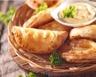 Chaussons feuilletés au jambon et au fromage