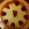 Cheescake allégé petit beurre fraise