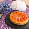 Cheese cake à l'orange sanguine