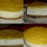 Cheese cake au citron et lemon curd