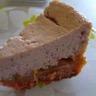 Cheese cake rose rhubarbe fraise