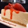 Cheesecake au chocolat blanc et fraises