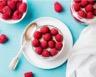 Cheesecake au chocolat blanc framboises et fruits rouges