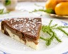 Cheesecake au chocolat fromage blanc et poires