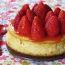 Cheesecake aux fraises label rouge