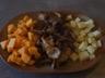 Chips de radis noir