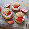 Choux fraises du Périgord IGP et chantilly