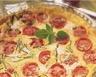 Clafoutis au chèvre frais courgettes et tomates cerises