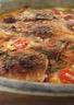 Clafoutis aux tomates cerises et au chèvre