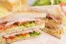 Club sandwich de poulet