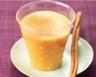 Cocktail abricot coco sorbet abricot