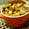 Cocotte d'andouillette pommes caramélisées au sirop d'érable
