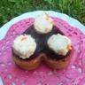 Coeurs moelleux gourmands basilic betterave et panna cotta de surimi