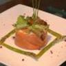 Compote de Chou-Fleur à la marinade de saumon