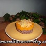 Confit de canard en parmentier de potimarron et crumble au parmesan