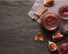 Confiture de figues rouges