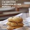 Cookies au beurre de cacahuètes vanillées et ses pépites