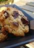 Cookies au muesli et deux chocolats