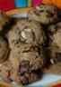 Cookies beurre de cacahuètes chocolat et noisette