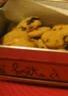 Cookies moelleux au chocolat blanc et airelles