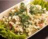 Coquilles de poisson à la mayonnaise