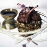 Côtes d'agneau et post marinade yaourt épicé et lentilles blondes