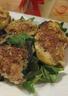 Courgettes et pommes de terre farcies