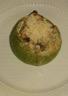 Courgettes farcies poulet champignons et ricotta