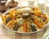 Couscous à l'agneau aux légumes et épices