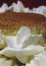 Crème a la pistache fève tonka et chantilly