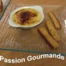 Crème brulée au Foie Gras et mouillettes pain d'épices
