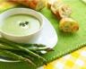 Crème d'asperges sans gluten sans lactose pauvre en sel