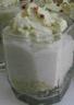 Crème de chou fleur au quinoa espuma d'herbes fraîches