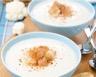 Crème de chou fleur safranée