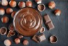 Crème dessert chocolat-noisette