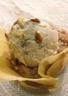 Crème glacée légère à la noisette pommes et fromage blanc