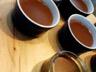 Crèmes desserts gourmandes au chocolat