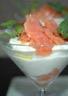 Crémeux de chou-fleur au saumon fumé